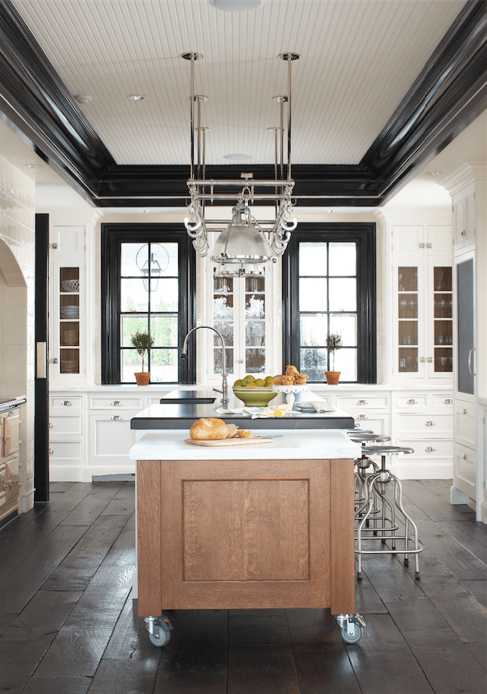 Transitional Kitchen by Decatur Architects u0026 Building