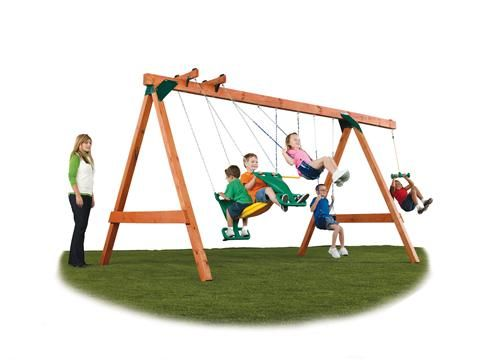 Scout Diy Swing Set Kit With Hardware Outdoors Pinterest Swing