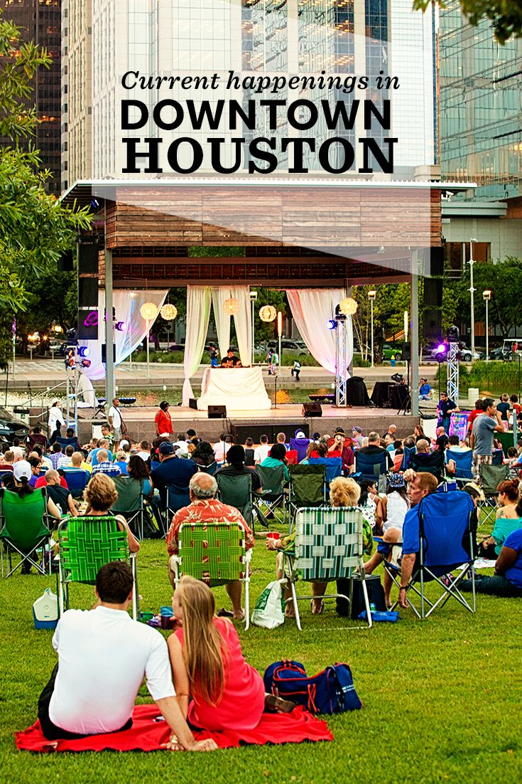 check out our calendar for the latest downtown houston events rh pinterest com