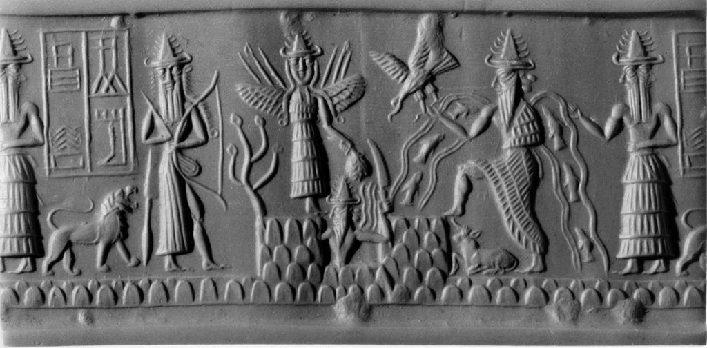 Ancient Middle East Map Mesopotamia%0A Anunnaki Sumerian Creation Myth