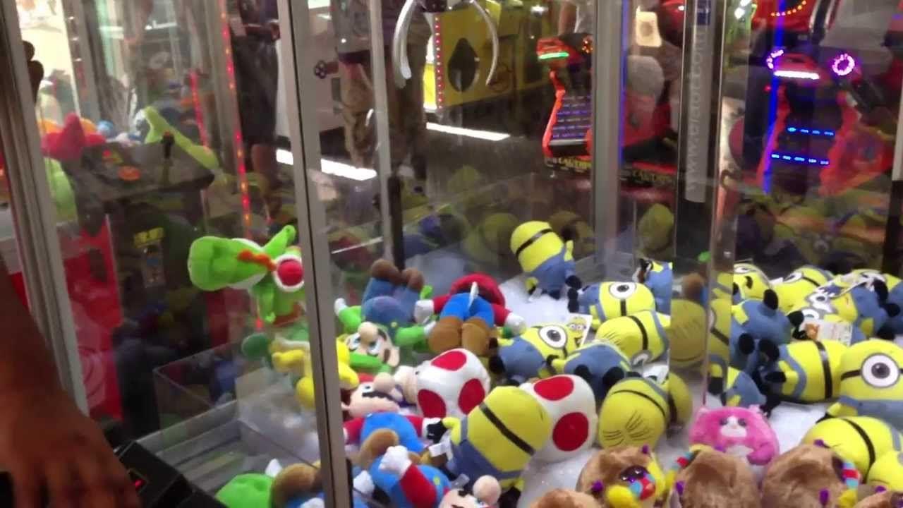 Rigged Claw Machines at Busch Gardens