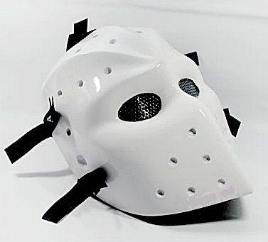 Blanc Masques Masque de hockey