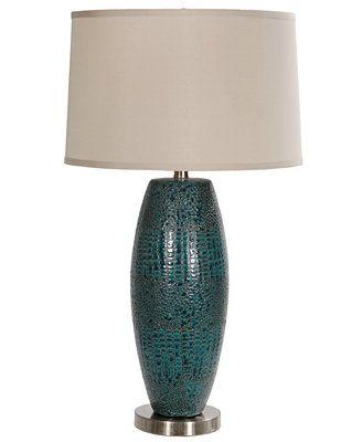 crestview table lamp melrose blue anita s living room makeover rh pinterest com