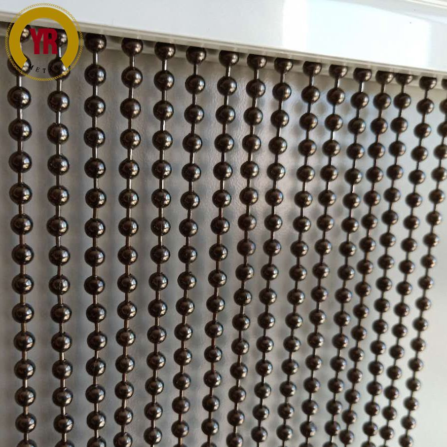 Pin On Metal Bead Curtain