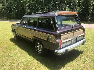 ebay 1991 jeep wagoneer wood panel 1991 jeep grand wagoneer low rh pinterest com au
