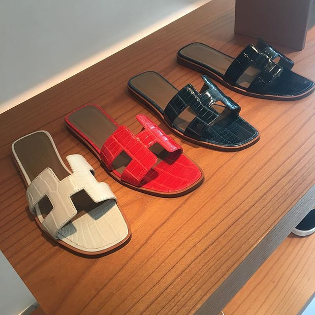 Sandal In En Oran 2019 CrocodileHermès Hermes Shoes nP08Owk