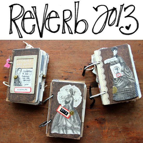 besottment by paper relics:  December Daily / Reverb 2013