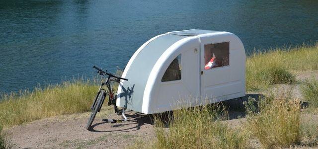 Fahrrad Wohnwagen Wide Path Camper Urlaub Spontan Fahrrad Wohnwagen Mini Wohnmobil Caravan