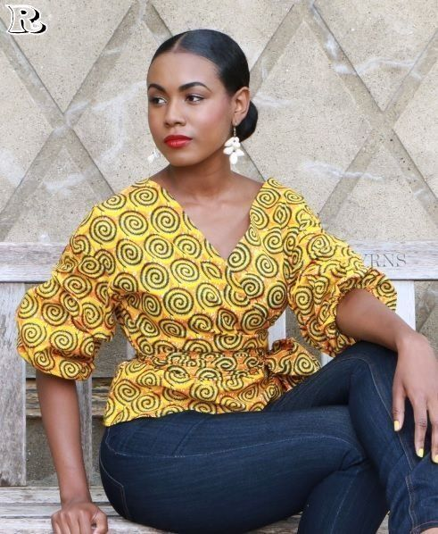 Over 30 African yellow dresses