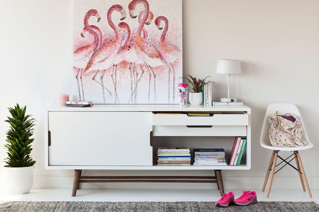 Structube L Endroit Parfait Pour Meubler Son Chez Soi Le Cahier Loft Living Room Decor Hand Painted Wall Art Hand Painted Walls