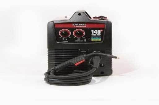 Weld Pak 140 Lincoln Electric Quick Pack Hd Feed Welder Wire Mig