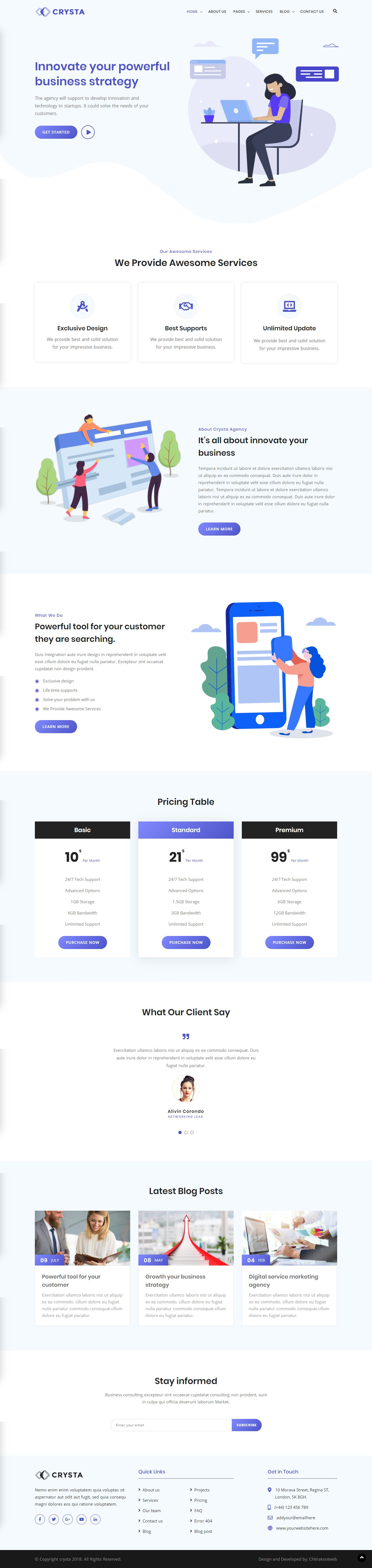 Startup Agency And Sass Business Html Website Template Business Template Web Design Website Template