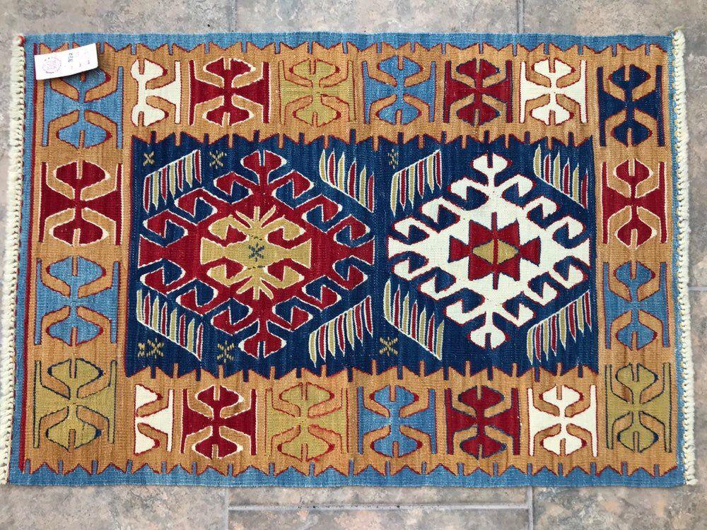 2 11 x2 kilim rug oriental blue rug small etsy boho rug bohemian style rugs blue rug on boho chic kitchen rugs id=84490