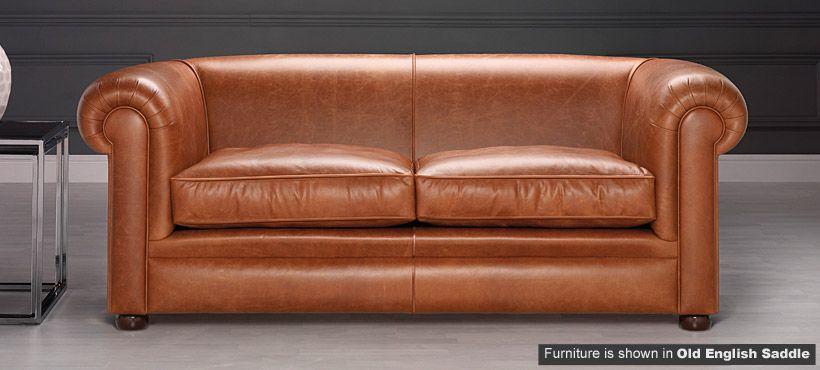 Hampton Chair Chesterfield Furniture Soft Leather Sofa Sofa