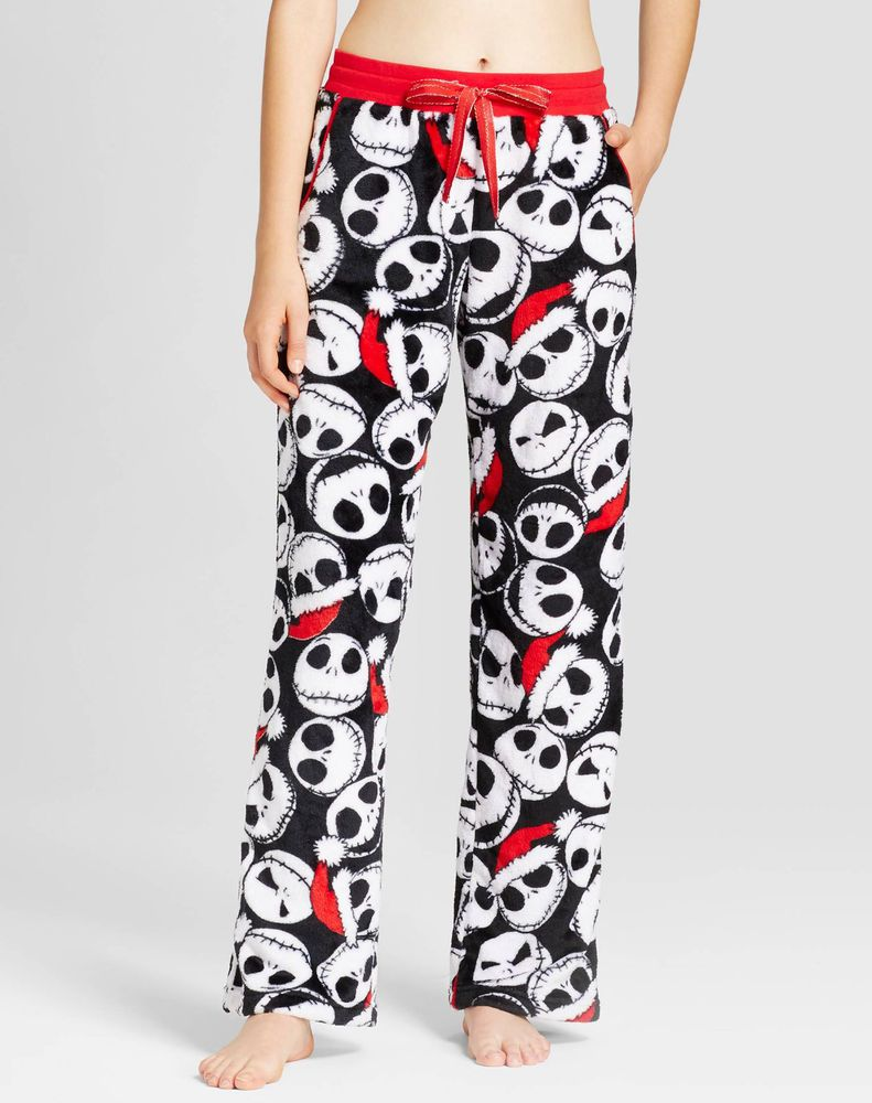 NIGHTMARE BEFORE CHRISTMAS 17 Lounge Sleep Pajama Pants Womens Jack  Skellington  270b6d6a8
