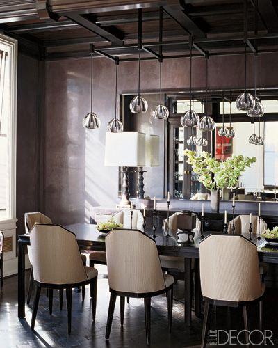 Amazing Elle Decor   Elle Decor   Olga Adler Interiors   Interior Designer    Decorator   CT. Purple Dining RoomsPurple ...