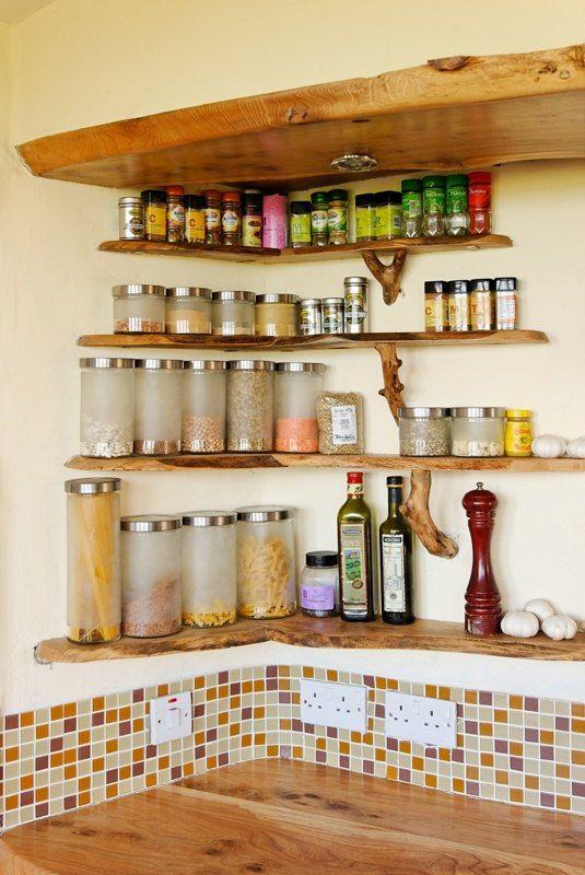 idea kitchen wall shelves kitchen shelves spice shelf rh pinterest com