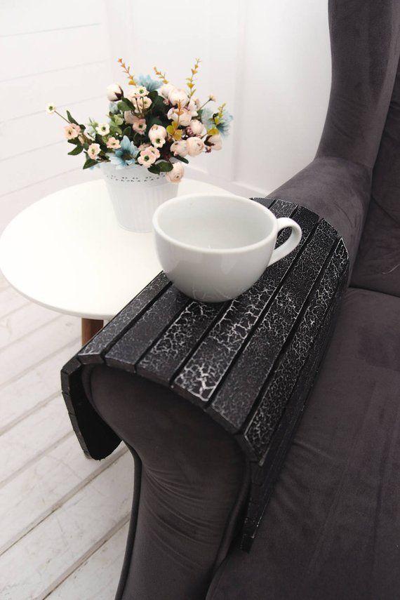 sofa arm table couch tray couch arm table sofa tray table sofa rh pinterest ca
