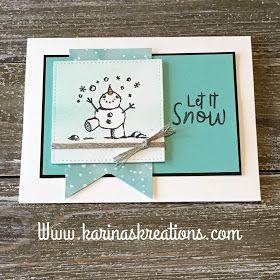 Stampin'Up Snowman Season Sneak Peek