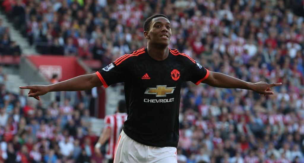 Bbc Sport On Twitter Anthony Martial Man Utd News Manchester United Football Club