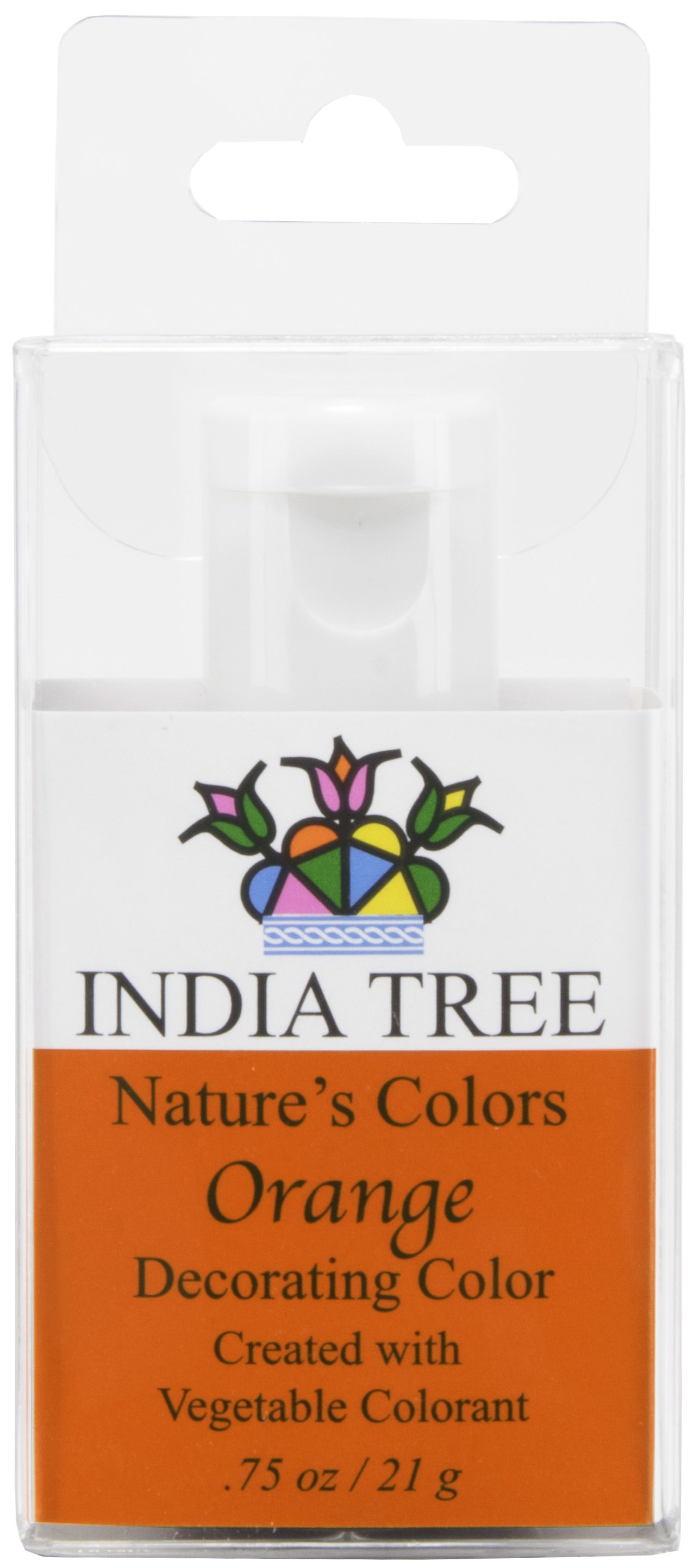 INDIA TREE NATURE\'S COLORS ORANGE DECORATING COLOR INDIA TREE ...