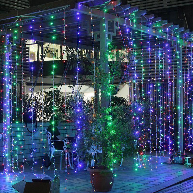 Decoracion exteriores navidad decoraci n navidad for Luces de navidad para exteriores