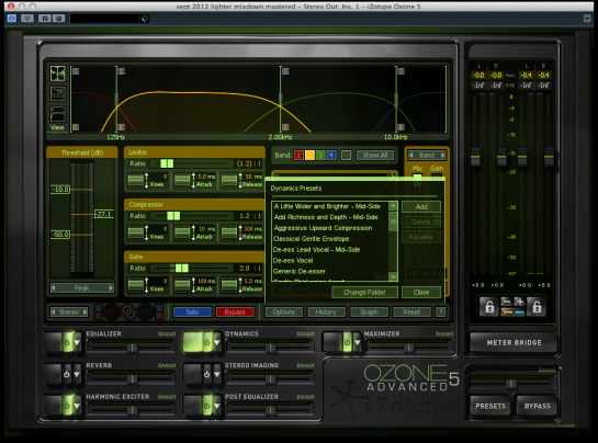 8 Essential Tips For Mastering In iZotope's Ozone 5