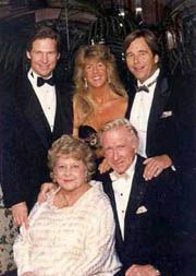 Lloyd Bridges and family. Sons Beau and Jeff also are actors.