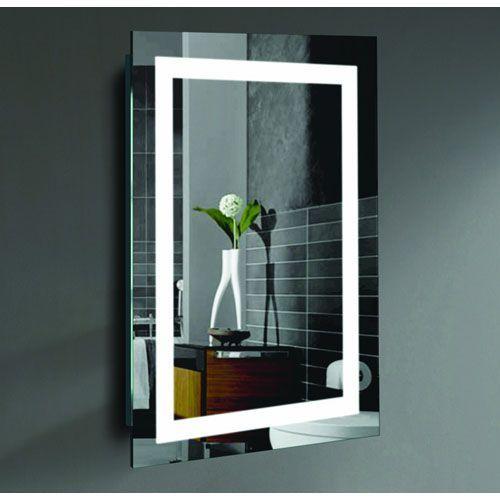 creators inc malisa 24 x 36 inch led lighted wall mirror by civis rh pinterest com