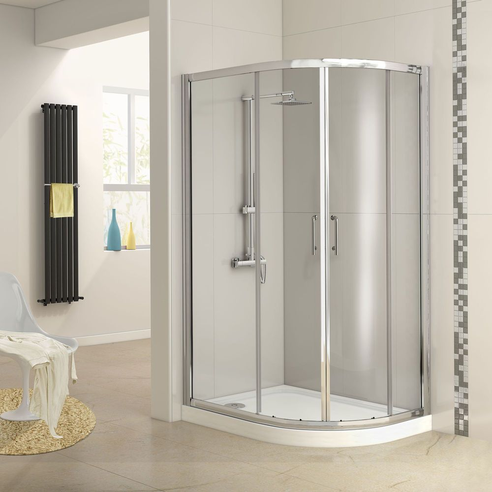 Quadrant Shower Enclosure Right 1200 X 800mm Glass Door Plinth Tray Eg1011 In Home Fur Quadrant Shower Enclosures Quadrant Shower Shower Enclosure