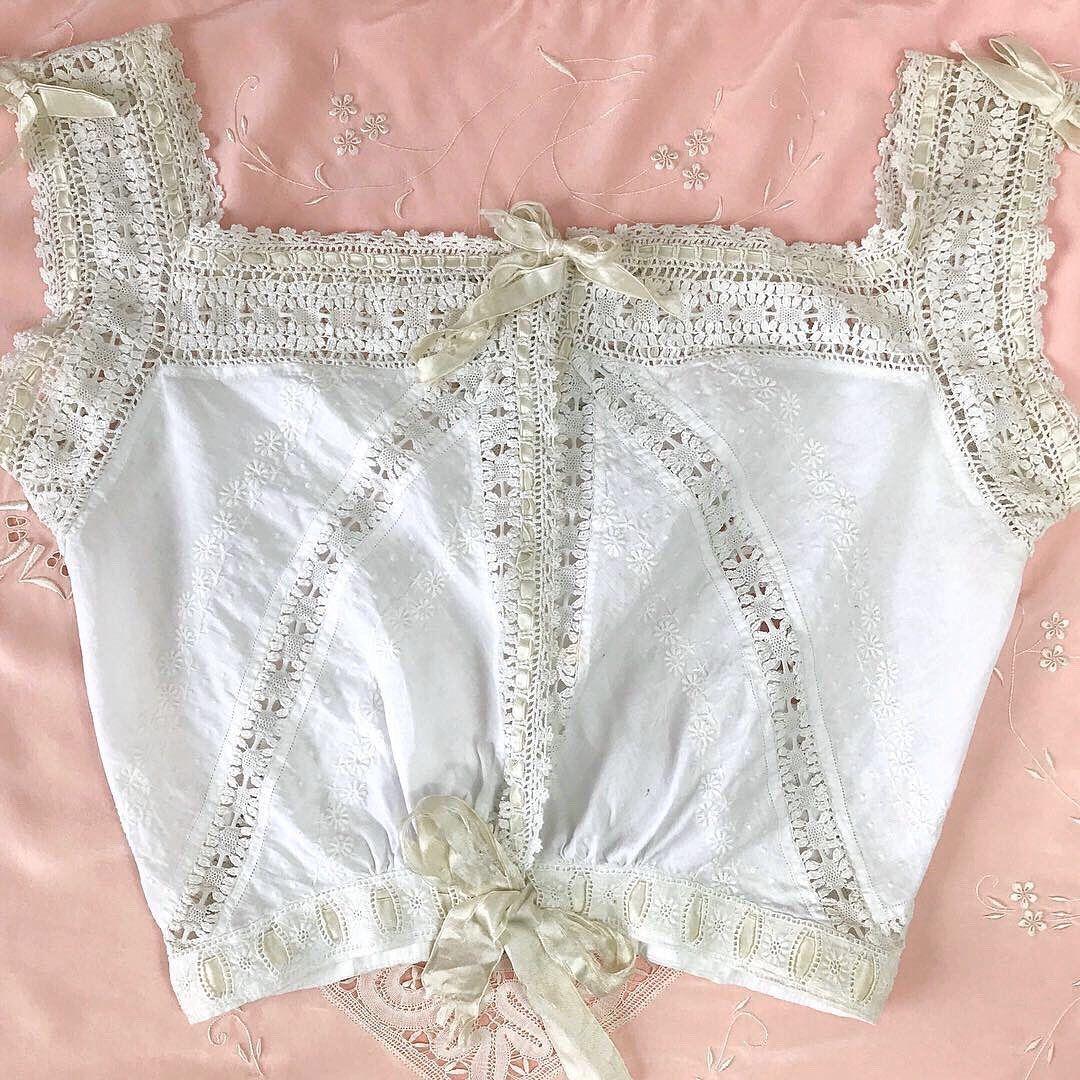 Lot Edwardian corset panties vintage French