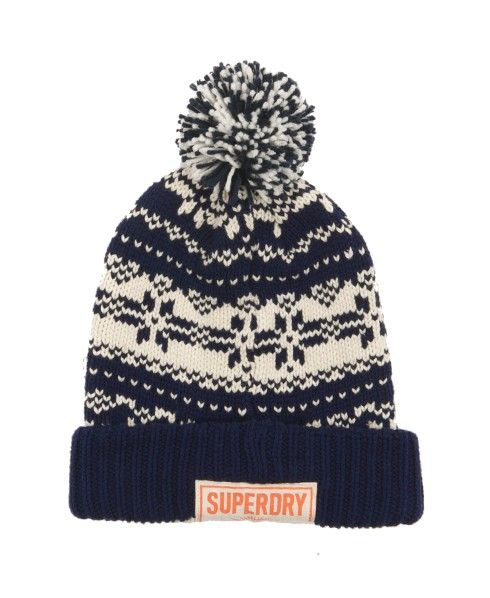 a6587af3413e6 Superdry Fairisle Beanie - Ears under cover
