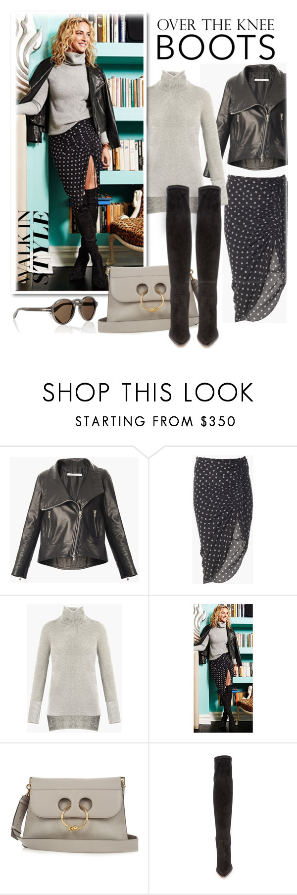 """""""Fall Footwear: Over-The-Knee Boots"""" by emavera ❤ liked on Polyvore featuring J.W. Anderson, Givenchy, Boots, RachelZoe, jwanderson and VeronicaBeard"""
