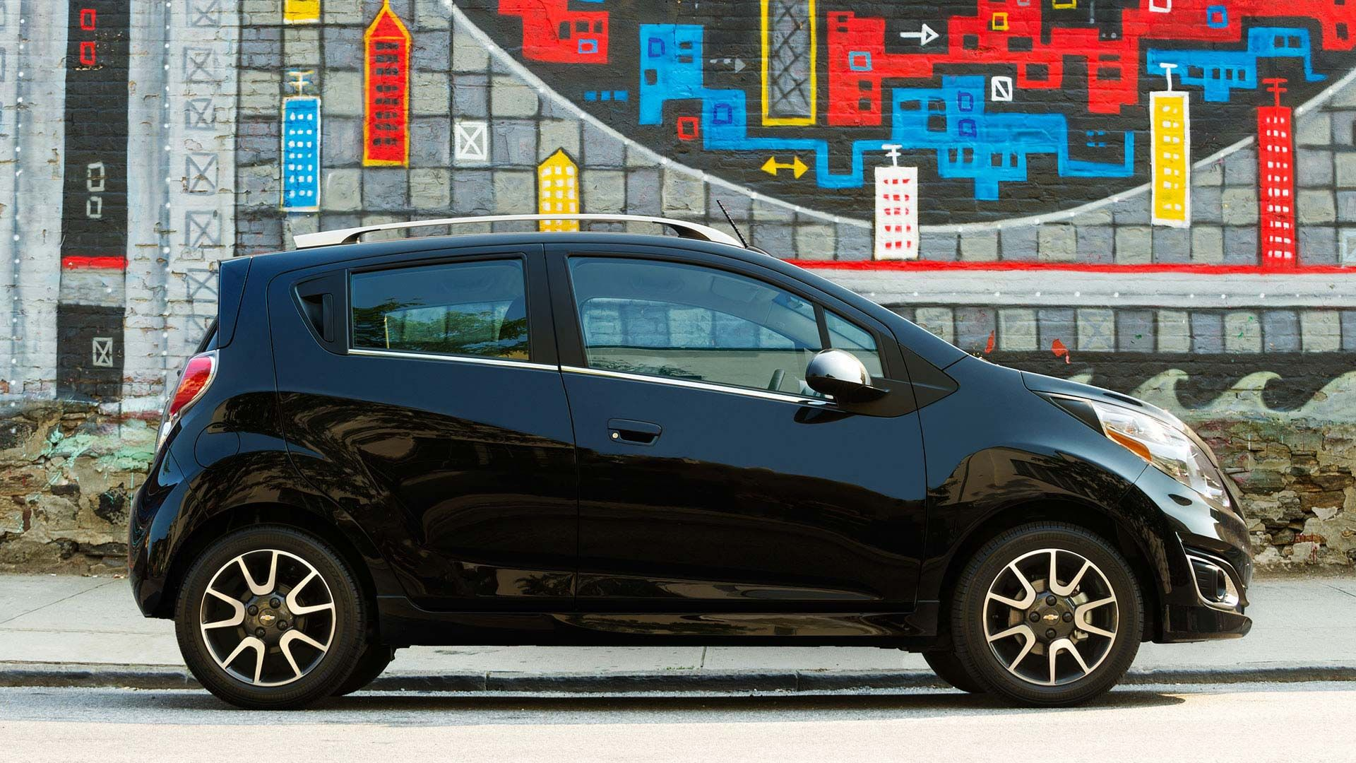 Conquer the urban jungle chevy spark