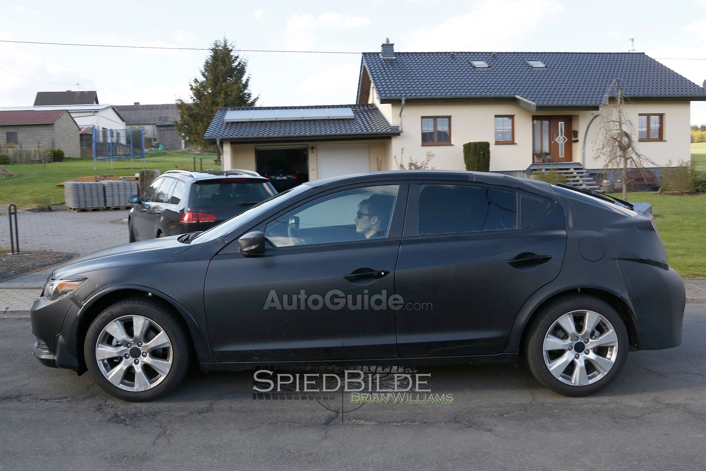 2016 honda civic hatchback mule spotted in germany 10th gen civic forum