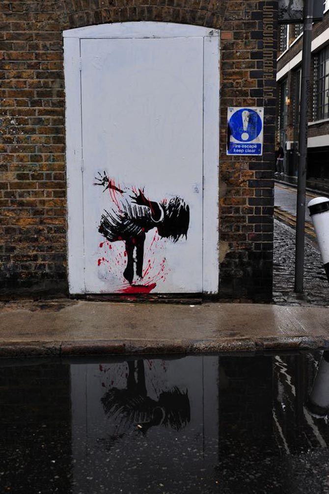 Splash, Grafter, London, 2009