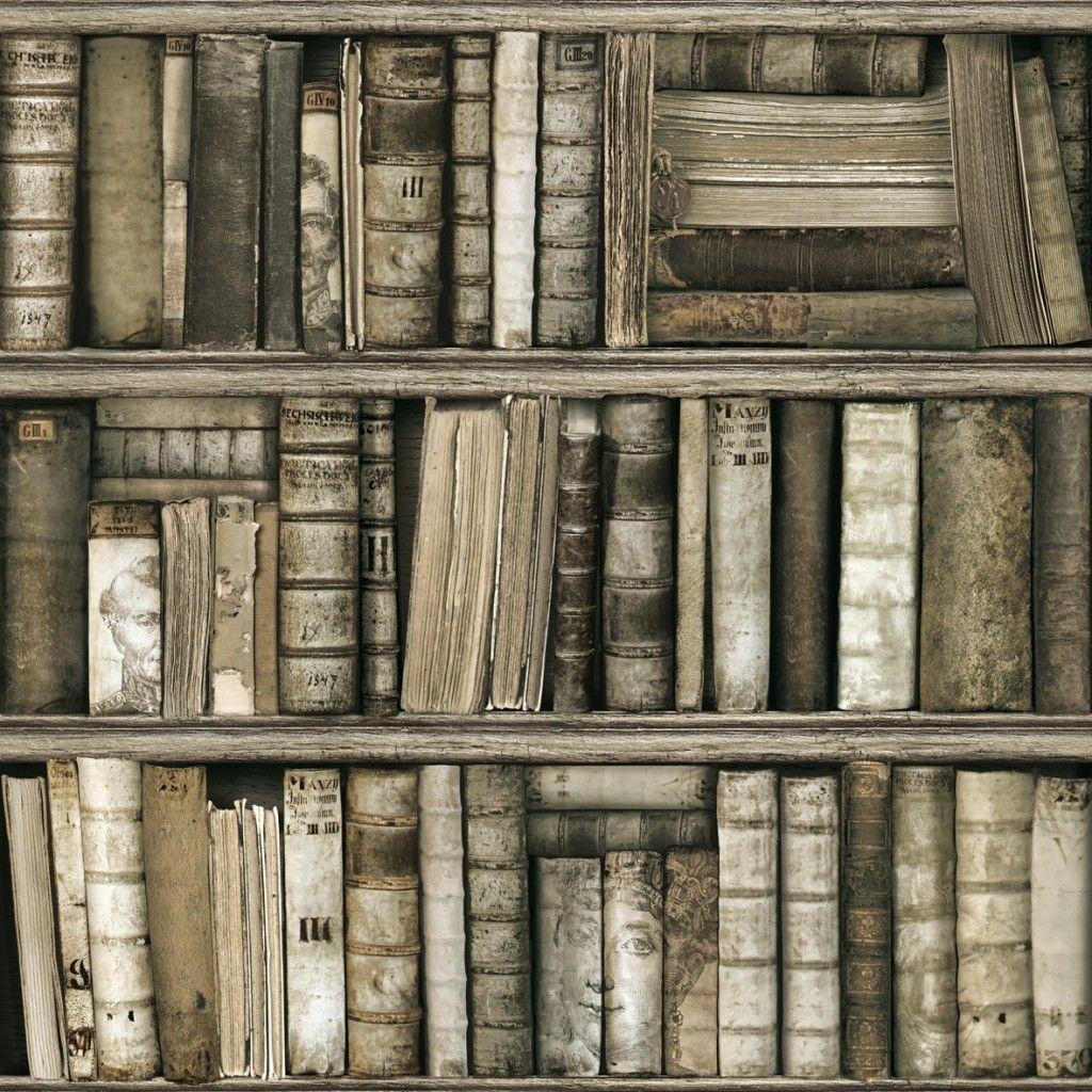 Papier Peint Biblioth Que Antique Koziel Fr Merchandising