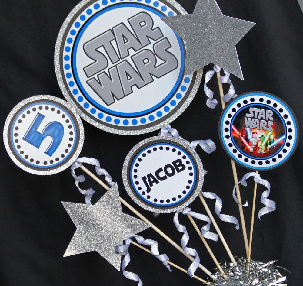 star wars centerpieces Buscar con Google Fiesta Star Wars