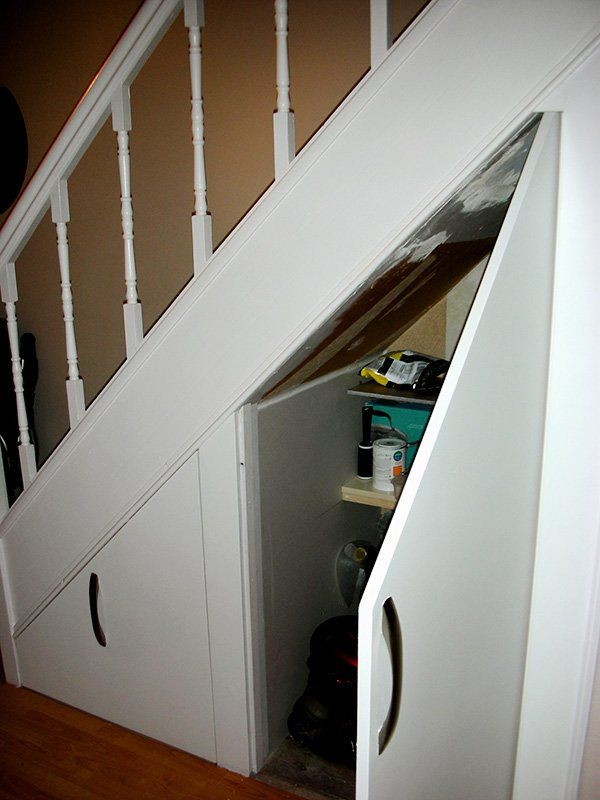 Under Stairs Closet Door Ideas Angled Top Closet Doors Pinterest
