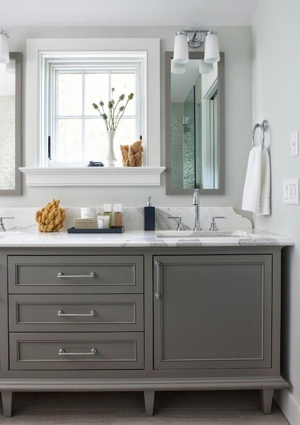 44+ Bathroom vanity cabinet grey best