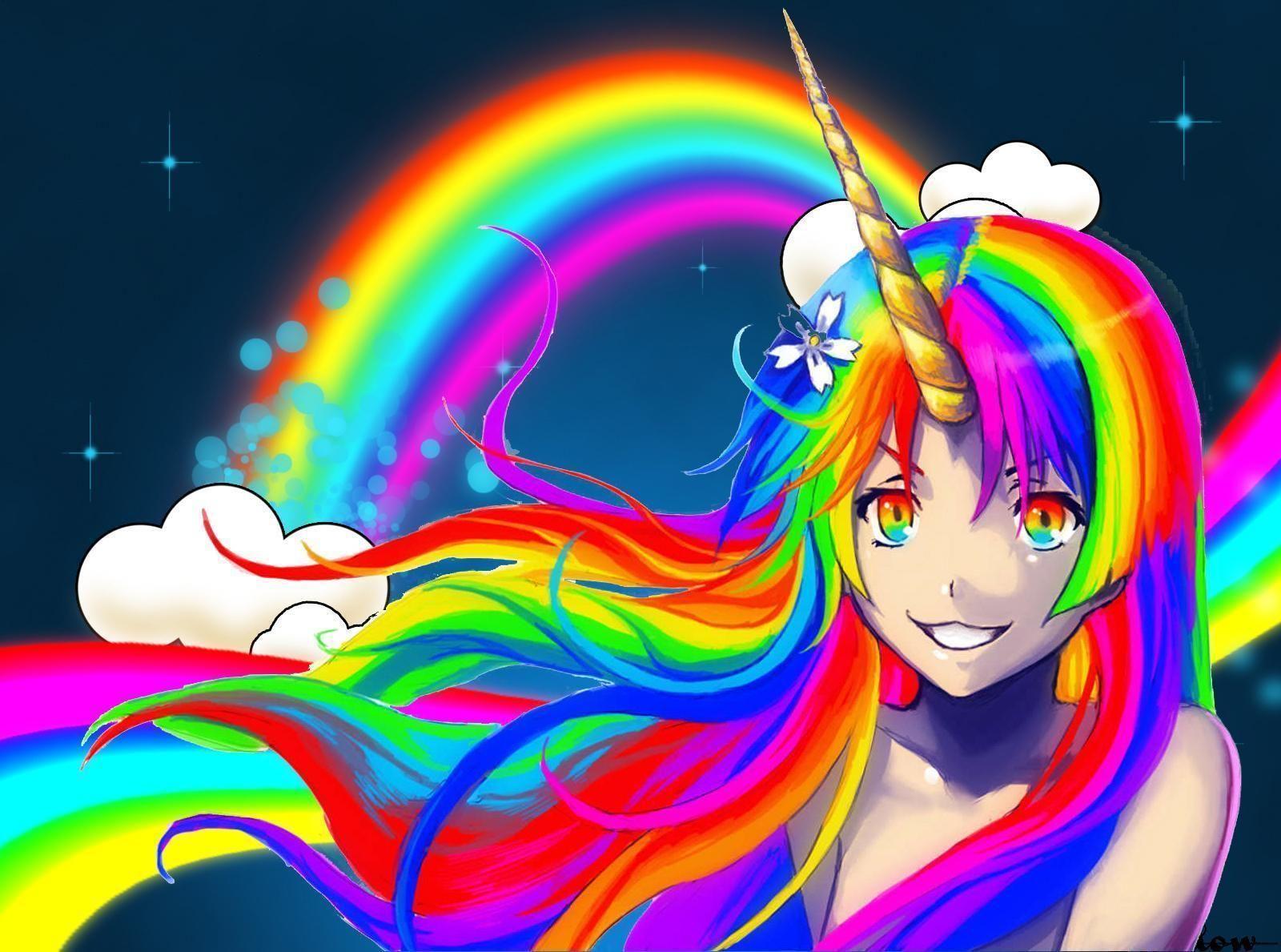 Anime, Colorful wallpaper, Wallpaper