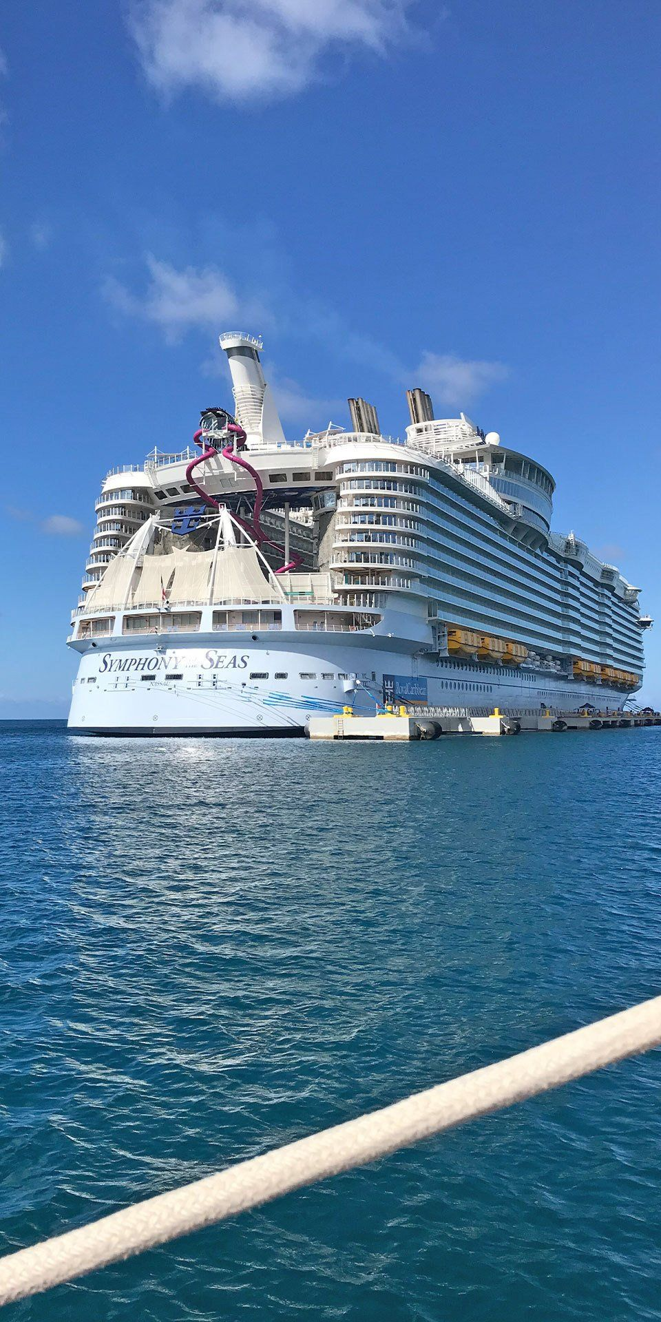 Symphony Of The Seas It S Hard To Say What S Better Where You Are Going Or How Royal Caribbean Cruise Ship Royal Caribbean Cruise Lines Cruise Ship Pictures