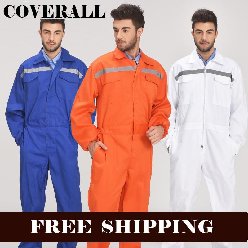 Mens Reflective Workwear Work coverall Repairman Auto Repair Mechanics High  Visibility Work Clothing Overalls Free Post. Yesterday s price  US  29.50  (26.46 ... d8f1f782fe51