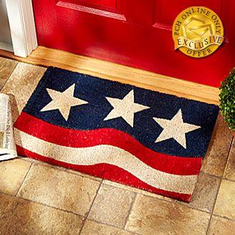 Patriotic Heavyweight Coir Mat