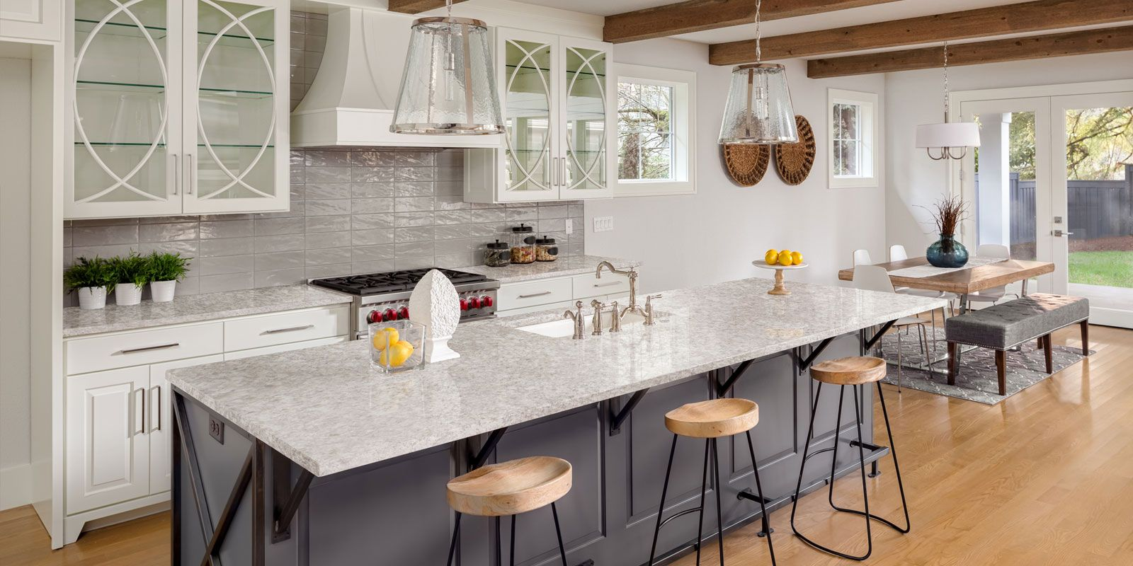 White And Gray Granite Are One Of The Most Sought After Color