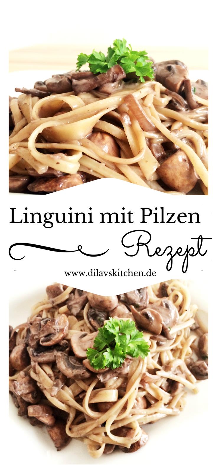 Linguini mit Rotwein-Pilz-Sauce #healthycrockpotchickenrecipes
