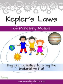 Kepler's Laws of Planetary Motion - STEM Space Activities ...