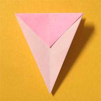 折り紙でコスモスの折り方 1枚で簡単立体的な作り方 セツの折り紙処 秋 折り紙 折り紙 コスモス 折り紙