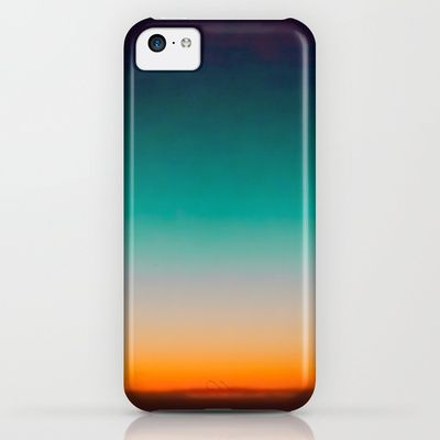 Blue and Yellow Magic Dawn in the Sky iPhone & iPod Case