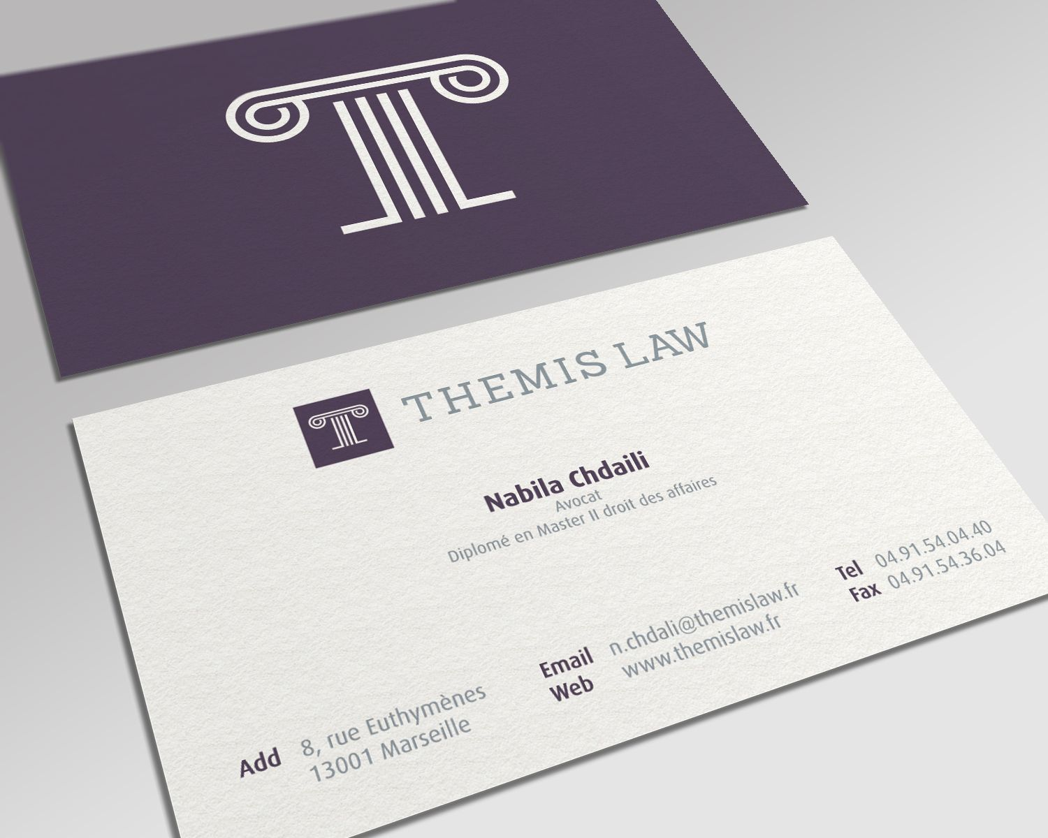 Themis Law Biz Card Mockup Business Card Business Card By Nina